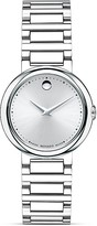 Movado Concerto® Stainless Steel Watch, 26.5mm