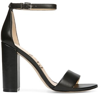 Sam Edelman Yaro Ankle-Strap Leather Sandals