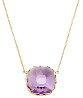 Roberto Coin 18K Yellow Gold Ipanema Amethyst Necklace