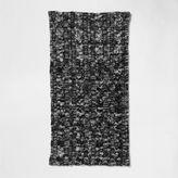 River Island Mens Dark green twist knit snood