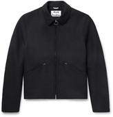 Acne Studios Miles Twill Blouson Jacket - Black