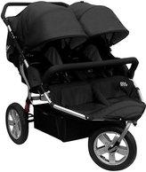 Tike Tech CityX3 Swivel Double Stroller - Classic Black