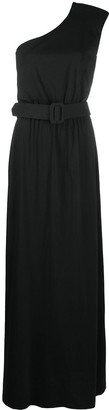 FEDERICA TOSI One-Shoulder Belted Gown