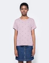 A.P.C. T-Shirt Aquarius in Rose