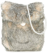 Carrà ̈ment Beau faux fur shoulder bag