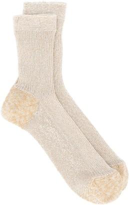 Missoni Fine Ribbed Knit Socks