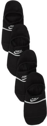 Nike Two-Pack Black SNKR No Show Socks