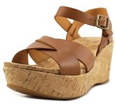 Kork-Ease Ease Ava 2.0 Women Open Toe Leather Wedge Sandal.