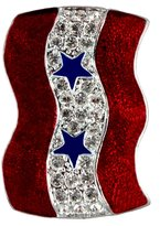 Stars & Stripes Products Two Stars Service Banner Brooch/Pin