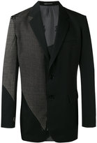 Yohji Yamamoto patchwork blazer