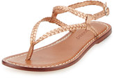 Bernardo Merit Woven Leather Sandal