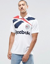 Reebok Vector Retro Polo Shirt In White B30599