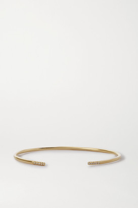 STONE AND STRAND Queue 10-karat Gold Diamond Cuff
