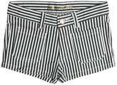 Zadig & Voltaire Zadig&voltaire Striped Stretch Cotton Denim Shorts
