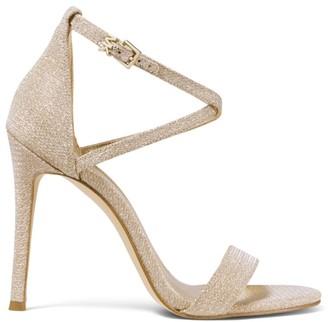 MICHAEL Michael Kors Antonia Metallic Ankle Strap Sandals