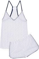 Three J NYC Sienna Printed Cotton-poplin Pajama Set - White