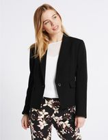Marks and Spencer PETITE Panel Detail Short Jacket