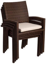 International Home Miami Liberty Armchairs - Set of 4