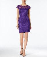 Nine West Sequin Lace Sheath Dress