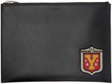 Saint Laurent Black smoking Forever Patch Tablet Holder