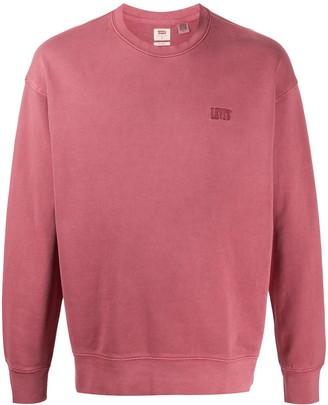 Levi's Embroidered Logo Sweatshirt
