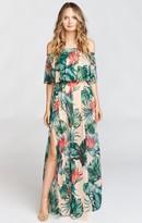 MUMU Hacienda Maxi Dress ~ Kauai Kisses