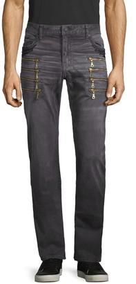 Robin's Jean Zipper-Detailed Jeans