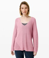 Lululemon What the Heart Wants Sweater