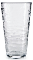 Martha Stewart Collection Textured Acrylic Highball Glass