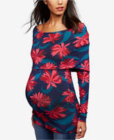 A Pea in the Pod Maternity Off-The-Shoulder Top