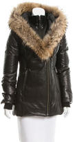 Mackage Down-Filled Leather Coat