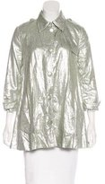 Gryphon Metallic Linen Coat