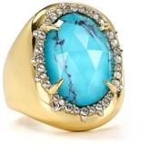 Alexis Bittar Encased Stone Cocktail Ring