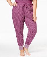 Alfani Plus Size Jacquard Pajama Jogger Pants, Only at Macy's