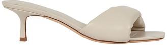 Studio Amelia 3.32 Leather Slide Sandals