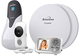 Motorola MBP483 Digital Video Baby Monitor BabySense Bundle