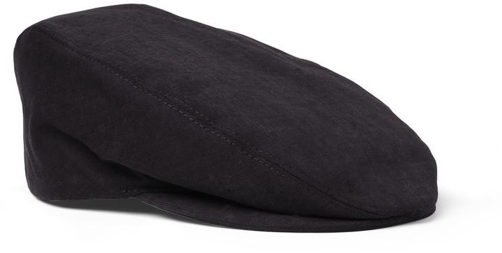 Dolce & Gabbana Cotton-Twill Flat Cap