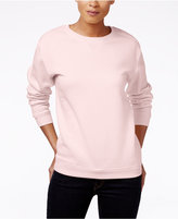 Karen Scott Fleece Sweatshirt, Only at Macy's