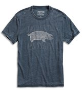 Lucky Brand Men's - Distressed Blue Pink Floyd Pig T-Shirt