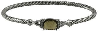 David Yurman Wheaton Bracelet (Smoky Quartz and Diamonds)