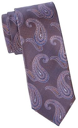 Canali Multi Paisley Silk Tie