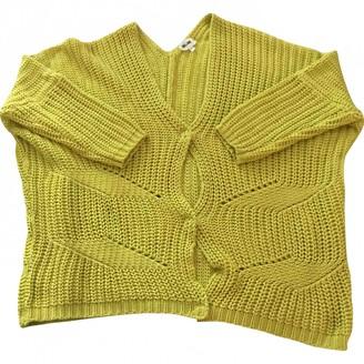 Bel Air \N Yellow Cotton Knitwear for Women