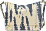 Jerome Dreyfuss Igor bag in Tie & Dye lambskin