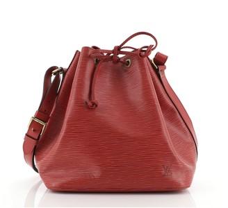Louis Vuitton Petit Noe Handbag Epi Leather