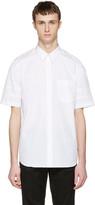 Givenchy White Star Sleeve Shirt