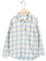 Burberry Boys' Checkered Button-Up Shirt