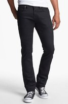 Naked & Famous Denim 'Skinny Guy' Skinny Fit Jeans (Black Power Stretch)