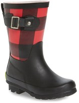 Western Chief Girl's Classic Tall Waterproof Rain Boot