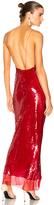 Stella McCartney Bernice Sequin Maxi Dress