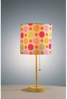 """Zoomie Kids Cooksey 19"""" Table Lamp (Set of 2 Base Color: Yellow"""